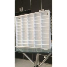 Rak Hotwheels Kotak Putih Isi 50 - 6A56ad - Original Asli