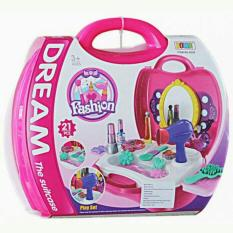 Harga Random House Mainan Make Up Dream Fashion Koper Pink Lengkap
