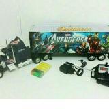 Spesifikasi Random House Mainan Mobil Kontainer Remot Control Avengers Multicolor Terbaik