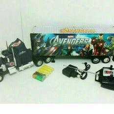 Jual Random House Mainan Mobil Kontainer Remot Control Avengers Multicolor Murah Di Indonesia
