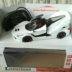 Ulasan Lengkap Random House Mainan Mobil Rc Ferrari Skala 1 16 Putih Menggunakan Sensor