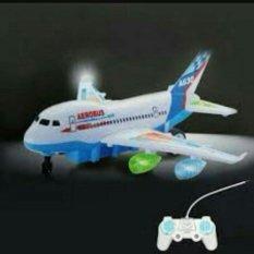Random House Mainan Pesawat  Remot control Super Aerobus Multicolor