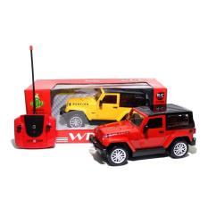 Rc Car Jeep Wrangler Rubicon 989-6936 Mainan Remote Control Mobil - Dd57d3 - Original Asli
