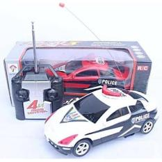 Rc Car Police ( Mobil Remote Control- Mainan Radio Kontrol Anak ) - Tq1icf