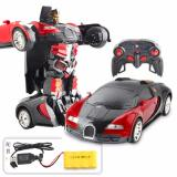 Harga Rc Car Robot 2In1 Deformation Transformer Bugati 999 2 Grade Aa