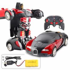 Harga Rc Car Robot 2In1 Deformation Transformer Bugati 999 2 Satu Set