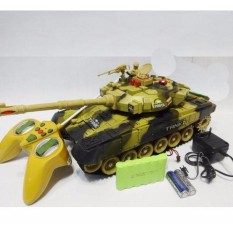 Ulasan Rc Tank Model Medium Baterai Charge