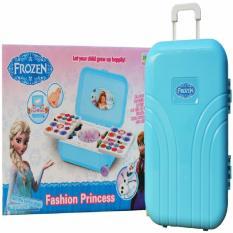 Ready Stok Mainan Make Up Frozen Trolley Koper Maianan Edukasi Memacu Kreatif Anak Hingga 200%