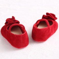 Spesifikasi Merah Panas Balita Bayi Sepatu Bayi Sol Lembut Slip Her At Brothers And Perempuan Rumbai Kembang Sepatu S1226 Ekspor