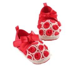 Harga Merah Balita Panas Pada Bayi Baru Lahir Satu Dia Her Soft And Slip Her At Bayi Laki Laki Sepatu Anak Rumbai Katun S855 Not Specified