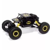Harga Remote Kontrol Car 4Wd Rock Crawler Super Hero Theme Car Off Road Hitam Baru Murah