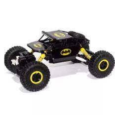 Remote Kontrol Car 4WD Rock Crawler Super Hero Theme Car Off-Road - Hitam