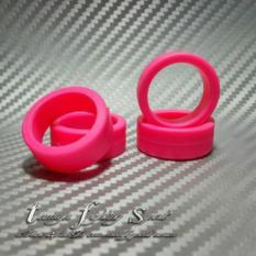 Rep Tamiya 94682 Offset Tread Tires / Ban Hard Rata M (Pink) -Brm05 - Ad56cb - Original Asli