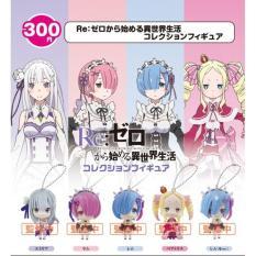 Rezero Rem Ram Emilia Gantungan Kunci Keychain Murah Figure Sega - E9bc7c - Original Asli
