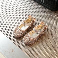 Harga Mengkilap Sepatu Kulit Batu Kristal Air Musim Semi Sepatu Gaun Korea Fashion Style Pijakan Empuk Satu Set