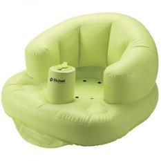 Richell Baby Soft Baby Chair Airy Kursi Untuk Bayi Belajar Duduk - Hijau