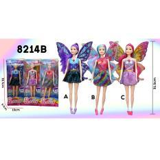 RKJ Mainan Anak Perempuan Beauty Barbie Bersayap 8124B - Model Random