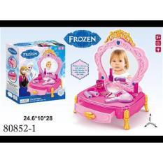 RKJ Mainan Anak Perempuan Meja Rias Frozen 80852-1 with Lights & Sounds