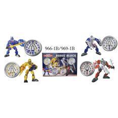 RKJ Mainan Anak Robot Blocks 966-1B/969-1B - Model Random