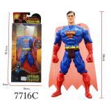Toko Rkj Mainan Anak Robot Super Heroes 7716C Superman Online Terpercaya