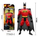 Harga Rkj Mainan Anak Robot Super Heroes 7716D 1 Batman Merah Seken