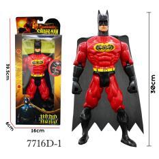 Harga Rkj Mainan Anak Robot Super Heroes 7716D 1 Batman Merah Original
