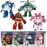 Toko Robocar Poli Mainan Robot Bisa Jadi Mobil Robo Car Isi 4 Karakter Terdekat