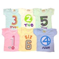 Harga Roman Kaos Oblong Bayi Number 9Month 3Y Dan Spesifikasinya
