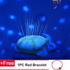 Spesifikasi Baby Sleep Light Sky Star Lampu Novelty Mainan Anak Anak Lagu Musik Pencahayaan Penyu Musik Led Night Light Gift Intl Murah