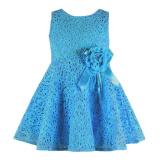 Promo Rorychen Bayi Anak Perempuan Without Lengan Gaun Renda Bunga Biru Akhir Tahun