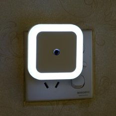 Harga Rorychen Led Night Light Sensor Lampu Square Halo Night Light Plug Hemat Energi Light Night Light Putih Intl Dan Spesifikasinya