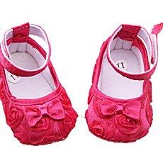 Rose Panas Balita Sol Lembut Baru Slip Pada Sepatu Bayi Laki-laki Gadis Rumbai Sepatu