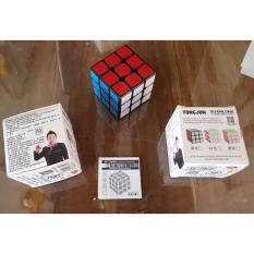 Toko Rubik 3 X 3 Black Merk Yongjun Original Dekat Sini