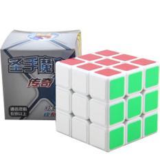Review Rubik 3X3 Shengshou Legend Speed Cube White Base Dki Jakarta