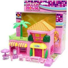 Rumah Barbie Mini | Mainan Anak Dream House