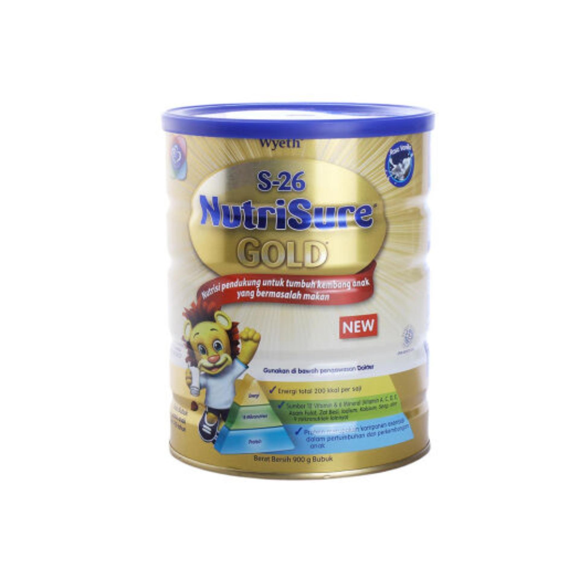 Review of S26 NUTRISURE Gold Tin 1 - 10 Tahun Susu Tin 900g / 900 g anggaran terbaik - Hanya Rp183.481
