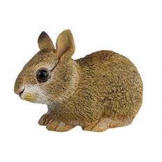Safari Ltd Incredible Creatures Collection-Eastern Kelinci Cottontail Bayi-Realistis dan Hidup Ukuran-Tangan Lukis Mainan model Figurine-Konstruksi Mutu dari Bahan Bebas Aman dan BPA-untuk Usia 3 dan Ke Atas-Internasional