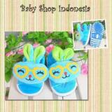 Jual Sandal Bayi Boneka Bunny Biru Satu Set
