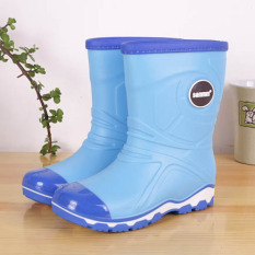 Promo Sanmingmei Musim Semi Dan Musim Panas Anak Laki Laki Dan Perempuan Tergelincir Sepatu Anak Anak Hujan Sepatu Oem Terbaru