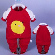 Sayang Katun Model Musim Gugur Anak Ayam Pria atau Wanita Pakaian