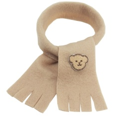 Scarf Light Brown Color 12 Inchi By Teddy House Indonesia.