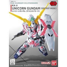 Sd Ex-Standard Unicorn Gundam - E35cd3 - Original Asli
