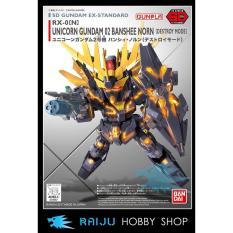Sd Gundam Ex-Standard 015 Unicorn 02 Banshee Norn (Destroy Mode) - Dab3b3 - Original Asli