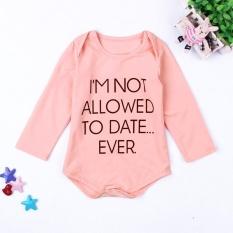 Toko Sdp Bayi Baru Lahir Bayi Gadis Pakaian Anak Balita Katun Lengan Panjang Bodysuit Jumpsuit Pakaian Bebes Suit 18 M Intl Di Tiongkok