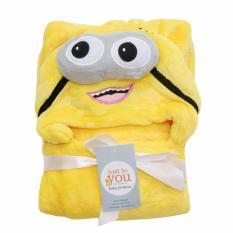 Harga Selimut Topi Carter S Double Fleece Selimut Hoodie Bulu Bayi 3D Hoodie Blanket Tudung Karakter Kuning Universal Asli