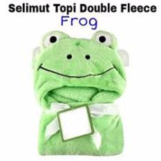 Jual Selimut Topi Double Fleece Selimut Hoodie Bulu Bayi 3D Hoodie Blanket Tudung Imported From China Murah