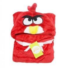 Spesifikasi Selimut Topi Double Fleece Selimut Hoodie Bulu Bayi 3D Hoodie Blanket Tudung Bird Red Murah Berkualitas
