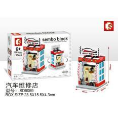 SEMBO BLOCKS SD6059 AUTO REPAIR MAINAN UNTUK KOLEKSI