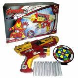 Harga Senjata Soft Bullet Blaster Spiderman Hulk Iron Man Mainan Anak Pistol Nerf Gun Termurah
