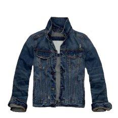 Cara Beli Senshukei Jaket Jeans Anak Laki Laki Biru